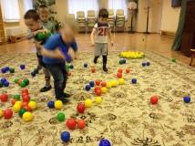 Игра Собери шарики по цвету