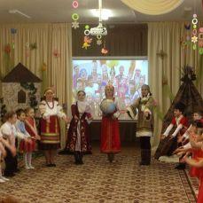 Матушка Россия собрала все народы воедино.