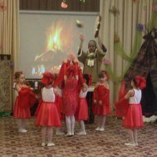 Танец огня, чтобы помочь народам Севера согреться
